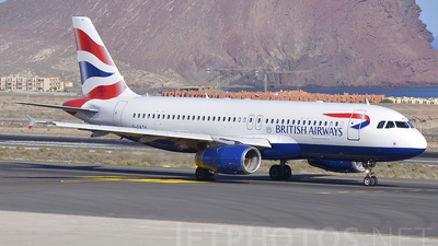 G-GATH - Airbus A320-232 - British Airways