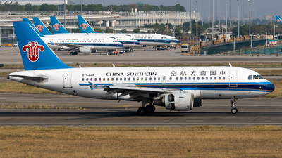 A picture of B6209 - Airbus A319115 - China Southern Airlines - © miCHAel TAN