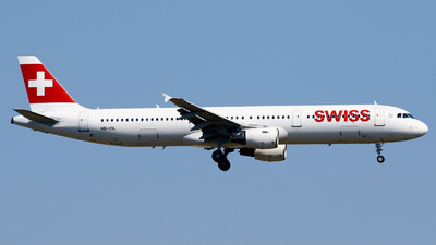 A picture of HBIOL - Airbus A321111 - Swiss - © Javier Rodriguez - Amics de Son Sant Joan