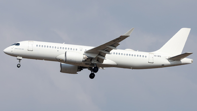 A picture of SUGFD - Airbus A220300 - Air Sinai - © SlowhanD