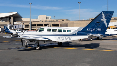 A picture of N121PB - Cessna 402C - Cape Air - © HA-KLS
