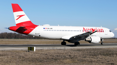 A picture of OELBP - Airbus A320214 - Austrian Airlines - © Marin Ghe.