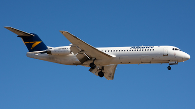 A picture of VHXWM - Fokker 100 - Alliance Airlines - © Steve Worner