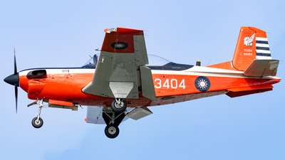 3404 - Beechcraft T-34C Turbo Mentor - Taiwan - Air Force