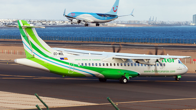 EC-MOL - ATR 72-212A(600) - Binter Canarias