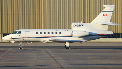 A picture of CGWFK - Dassault Falcon 50 - [264] - © Severin H.