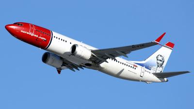 A picture of EIFYE - Boeing 737 MAX 8 - Norwegian - © Aerosopuli