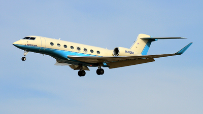 HL8068 - Gulfstream G650ER - Korean Air