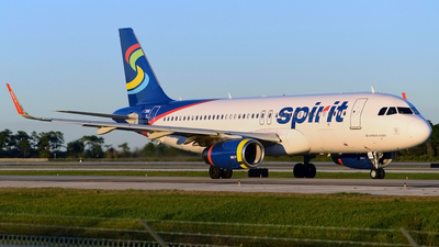 N631NK - Airbus A320-232 - Spirit Airlines