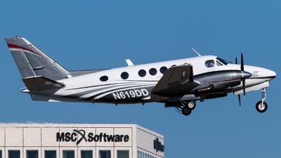 N619DD - Beechcraft B100 King Air - Private