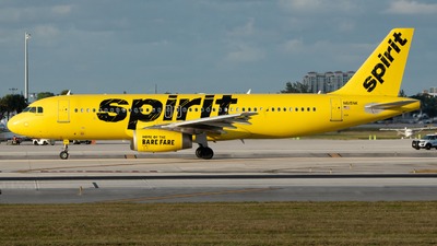 A picture of N615NK - Airbus A320232 - Spirit Airlines - © Matthew Calise