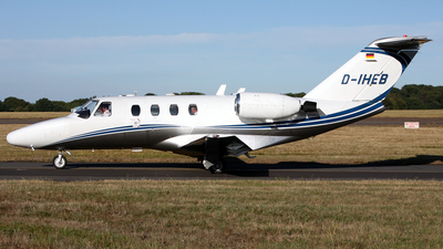 D-IHEB - Cessna 525 CitationJet 1 - Silver Cloud Air