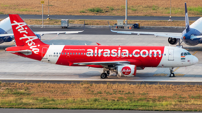 A picture of VTHYD - Airbus A320216 - AirAsia - © Sandeep Pilania