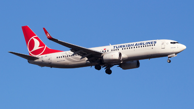A picture of TCJVI - Boeing 7378F2 - Turkish Airlines - © Emre Tanrivermis