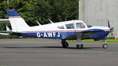 G-AWFJ - Piper PA-28R-180 Cherokee Arrow - Private