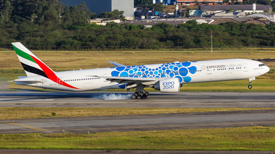 A picture of A6ECC - Boeing 77736N(ER) - Emirates - © Dotto