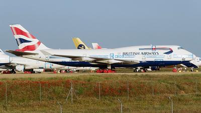 A picture of GCIVX - Boeing 747436 - [28852] - © Cesar Prieto