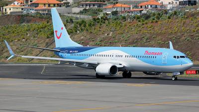 G-FDZX - Boeing 737-8K5 - Thomson Airways