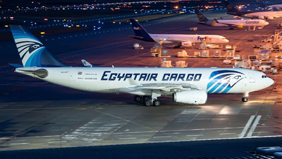 A picture of SUGCF - Airbus A330243(P2F) - EgyptAir Cargo - © Oliver Lotz