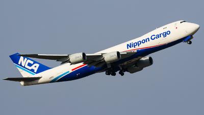 JA13KZ - Boeing 747-8KZF - Nippon Cargo Airlines (NCA)