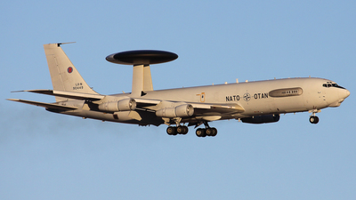 LX-N90449 - Boeing E-3A Sentry - NATO - Airborne Early Warning Force