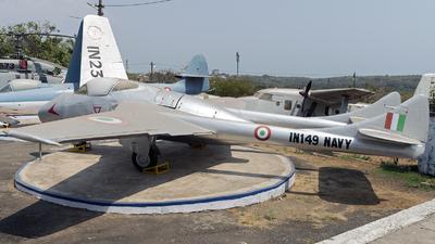 IN149 - De Havilland Vampire T.55 - India - Navy