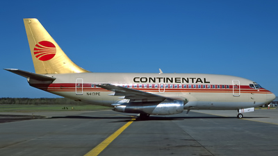 N417PE - Boeing 737-130 - Continental Airlines