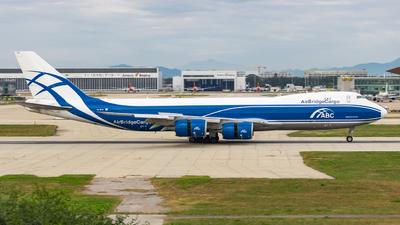 VQ-BLQ - Boeing 747-8HVF - Air Bridge Cargo