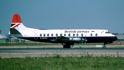 G-AOYR - Vickers Viscount 806 - British Airways