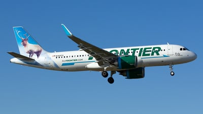 N360FR - Airbus A320-251N - Frontier Airlines