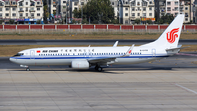 B-6498 - Boeing 737-89L - Air China
