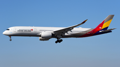 HL7579 - Airbus A350-941 - Asiana Airlines