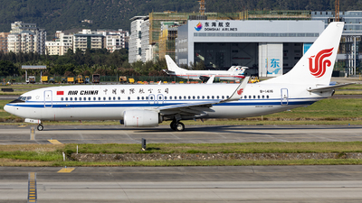 B-1416 - Boeing 737-89L - Air China