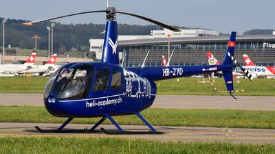 HB-ZYD - Robinson R44 Clipper II - Private