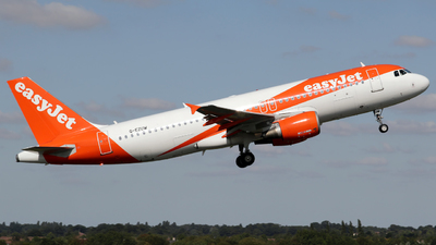 A picture of GEZUW - Airbus A320214 - easyJet - © Terry Figg