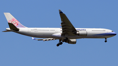 B-18309 - Airbus A330-302 - China Airlines