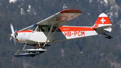 HB-PCM - Piper PA-18-180M Super Cub - Private