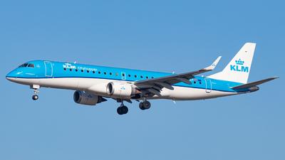 PH-EZF - Embraer 190-100STD - KLM Cityhopper