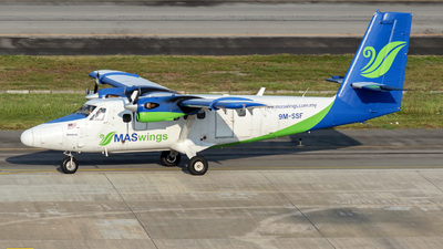 A picture of 9MSSF - Viking DHC6400 Twin Otter - MASwings - © Prestley Shim