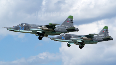 RF-91968 - Sukhoi Su-25SM Frogfoot - Russia - Air Force