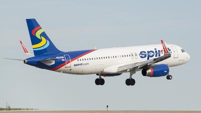N635NK - Airbus A320-232 - Spirit Airlines