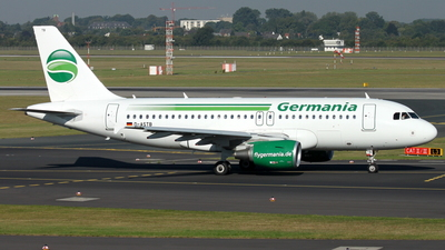 D-ASTB - Airbus A319-112 - Germania