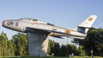 FU-154 - Republic F-84F Thunderstreak - Belgium - Air Force