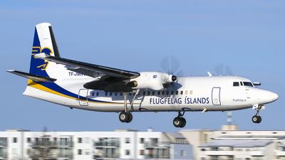 TF-JMN - Fokker 50 - Flugfélag Íslands