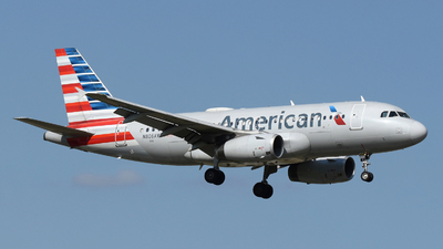 N806AW - Airbus A319-132 - American Airlines