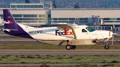 A picture of N771FE - Cessna 208B Super Cargomaster - FedEx - © Marco Papa
