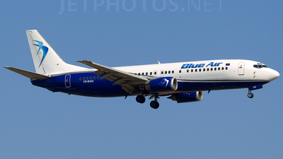 YR-BAQ - Boeing 737-4D7 - Blue Air