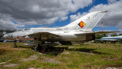 23-89 - Mikoyan-Gurevich MiG-21U-400 Mongol A - Germany - Air Force