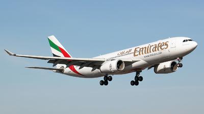 A6-EKS - Airbus A330-243 - Emirates