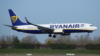 EI-DHB - Boeing 737-8AS - Ryanair